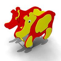 Детская Качалка на пружине «Носорог» Размеры: 960 x 470 x 900мм