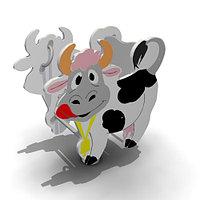 Детская Качалка на одинарной пружине «Корова» Размеры: 805 x 450 x 900мм