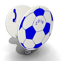Детская Качалка на одинарной пружине «Мяч» Размеры: 630 x 450 x 850мм