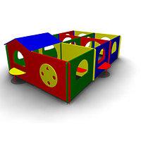 Детское Игровое оборудование «Лабиринт1» Размеры 4165х2980х1260мм