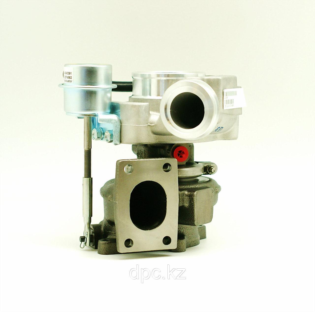 Турбокомпрессор Holset Cummins ISDe ISBe185  (ПАЗ-3204,3206, Yutong ZK6737D) 4043976 2835142 4955962
