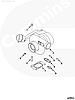 Турбокомпрессор Holset Cummins ISDe ISBe185  (ПАЗ-3204,3206, Yutong ZK6737D) 4043976 2835142 4955962, фото 5