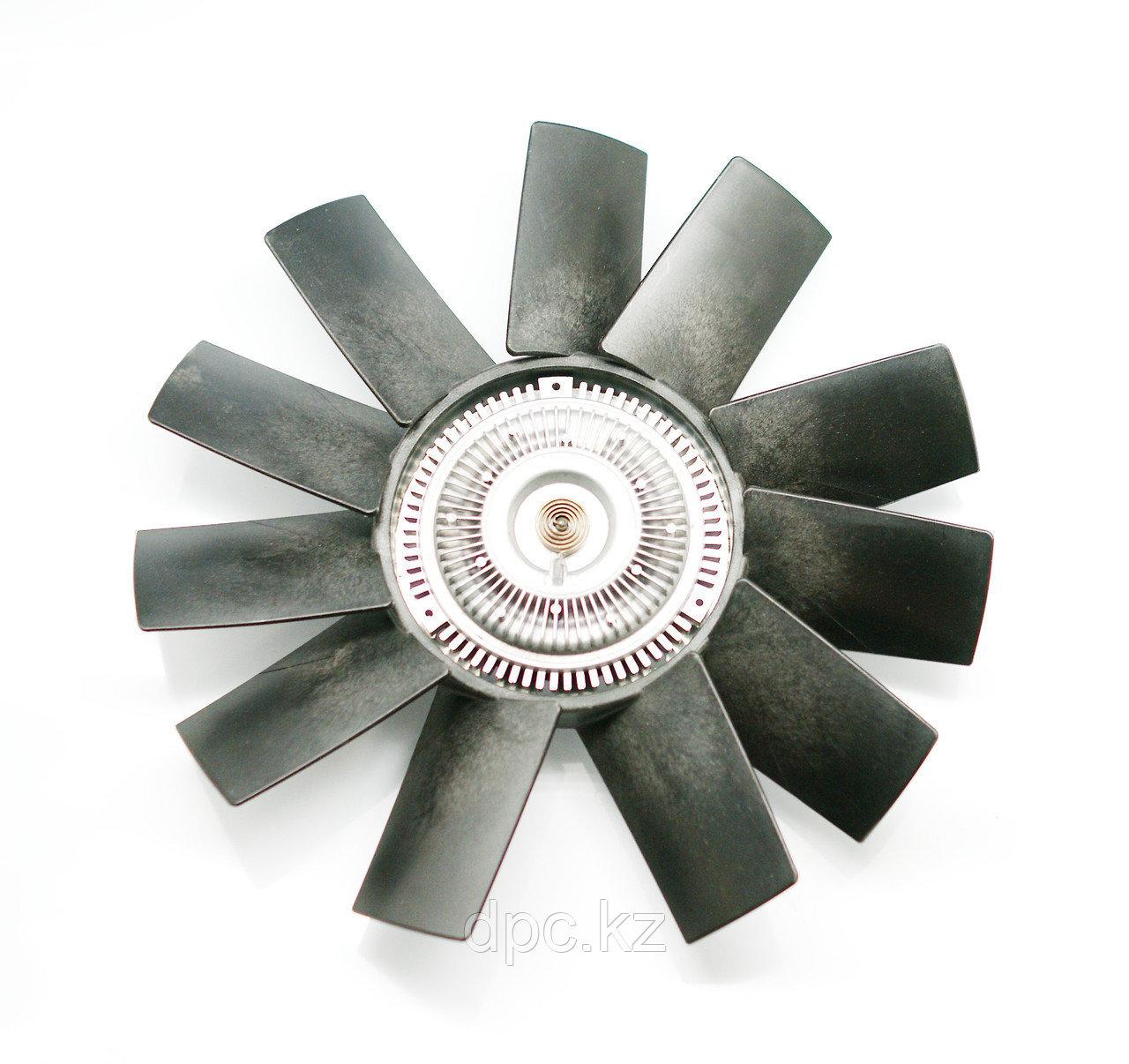 Вентилятор с вязкостной муфтой (вискомуфтой) D-410 для Cummins ISF2.8 ГАЗель Бизнес/NEXT