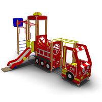 Детское Игровое оборудование «Пожарная машина» Размеры: 7050х4240х3600мм