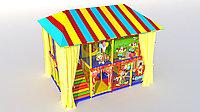 Уличный игровой лабиринт Цирк