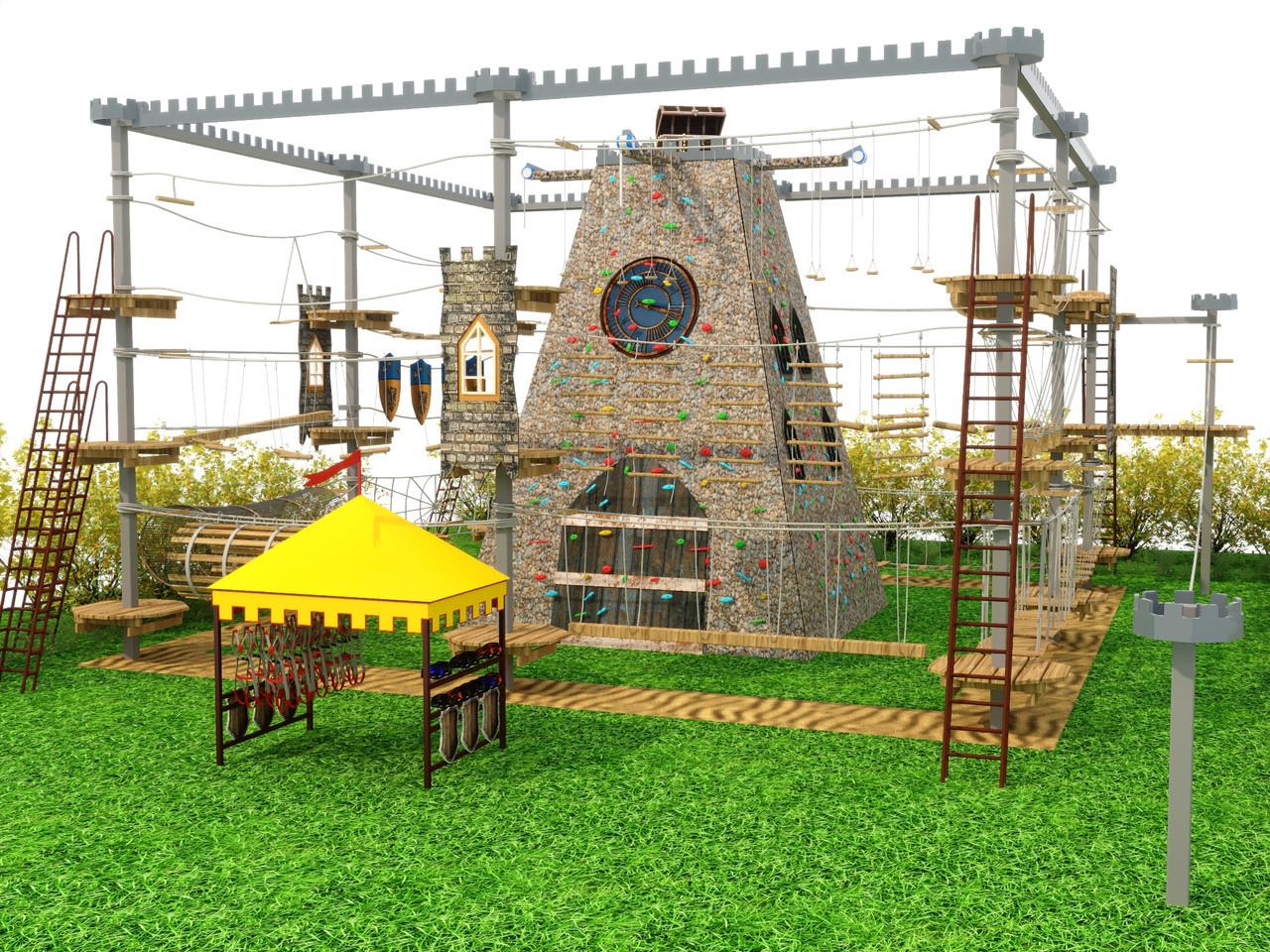 Канатные (верёвочные) парки или тайпарки