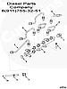 Редукционный клапан в рампе Cummins ISF2.8/3.8 ISB ISD 3974093 5317174, фото 5
