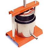 Соковыжималка OMAC 350 Torchietto ручной винтовой пресс для отжима сока, масла, сыра, фото 3