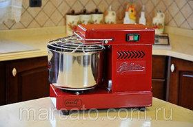 Famag GRILLETTA IM 5 RED красная спиральная тестомесильная машина для дома и хлебопекарни