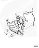Болт M8 x 1.25 x 20 крепления картера шестерен ГРМ Cummins 3926846 3924490, фото 4