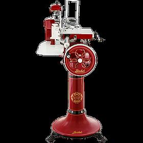 Слайсер - ломтерезка Berkel Flywheel Volano B300 + подставка в комплекте, цвет красный