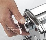Marcato Atlas 180 mm ручная лапшерезка - тестораскатка для дома бытовая тестораскаточная машинка, фото 2