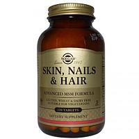 БАД Кожа, ногти и волосы, улучшенная МСМ формула (120 таблеток)