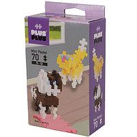 Plus Plus 3754 Разноцветный конструктор для создания 3D моделей(собаки коричневый)