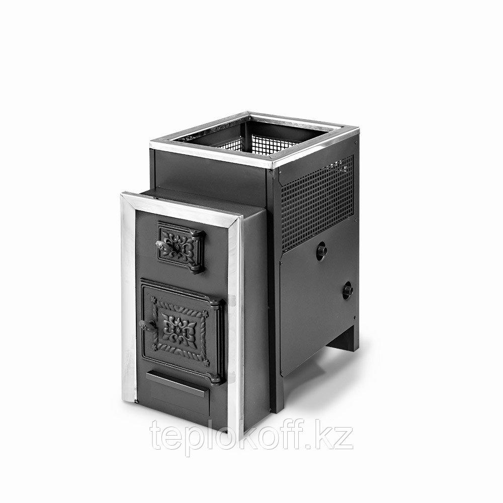 Печь банная Радуга-21, сталь 6 мм, теплообменник нержавеющий
