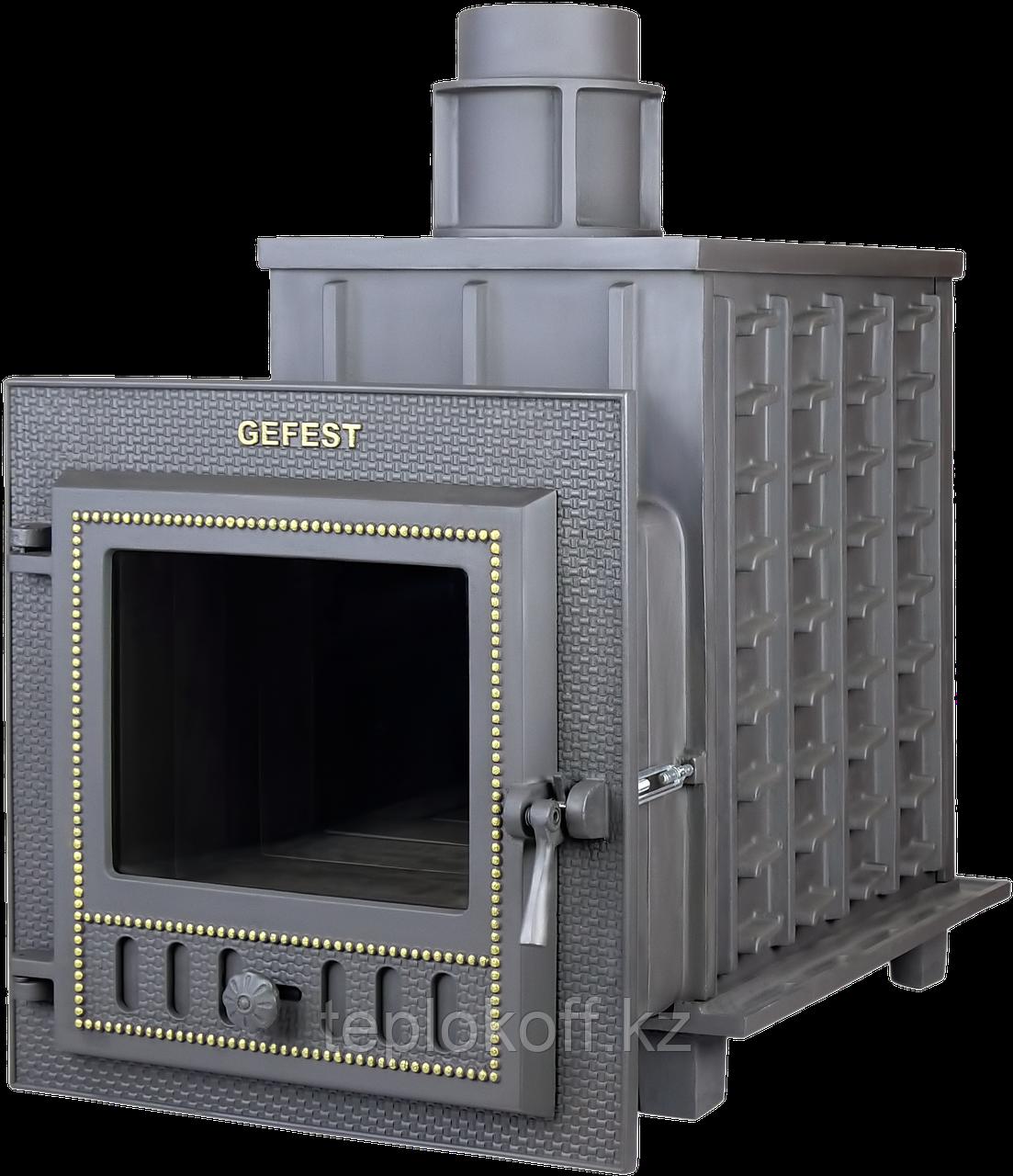 Печь банная чугунная Гефест ПБ-01М-ЗК