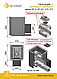Печь для бани Везувий Сенсация 16 (ДТ-4) антрацит дровяная, фото 2