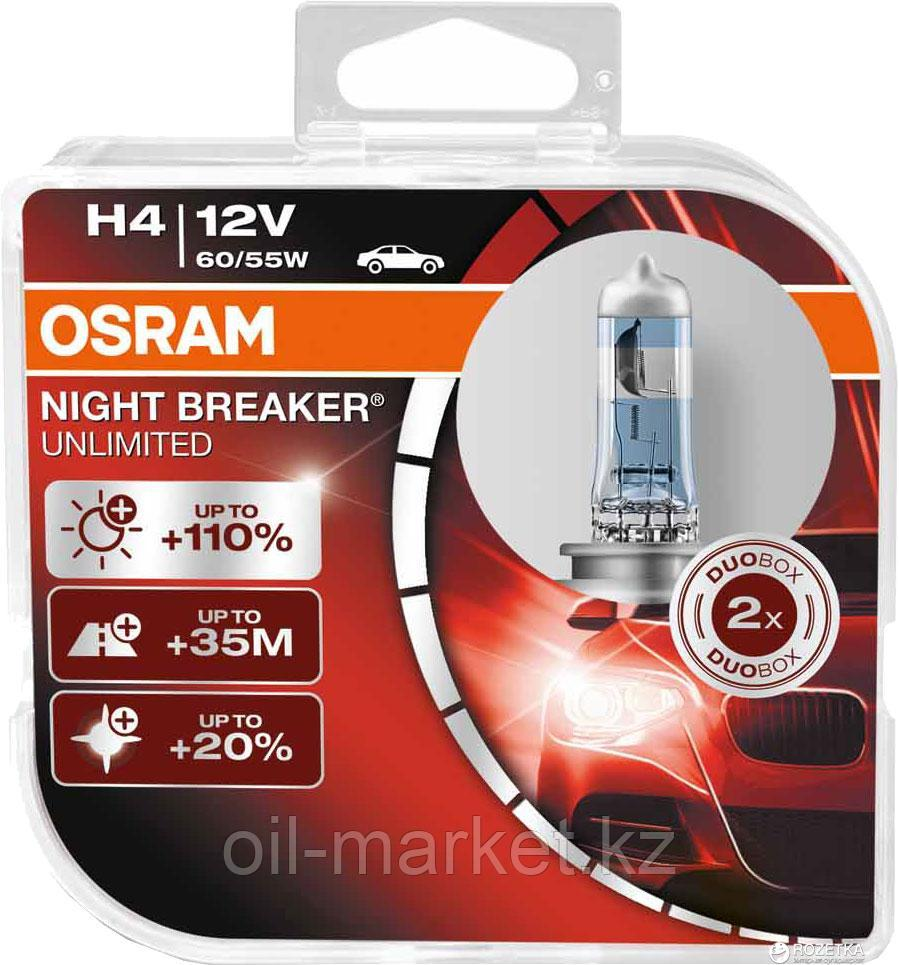 Лампа OSRAM H4 Night Breaker Unlimited