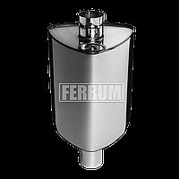 Бак Феррум Комфорт самоварного типа 55 л, нержавеющий (AISI 201/1,0 мм), ф115 мм, треугольный