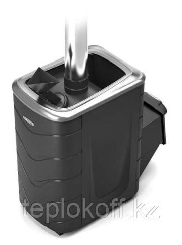 Печь для бани ТМФ Гейзер 2014 Carbon нерж.дверца закр.каменка антрацит