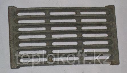 Колосник чугунный печной РД-6, 380х250 мм, Балезино