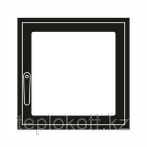 Дверца каминная ГрейВари Стандарт L, 526х508 мм