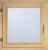 40115 Оконный блок 400*600 стекло прозрачное (осина)