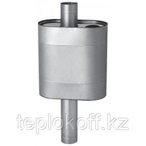 Бак Феррум Комфорт самоварного типа 60 литров нержавеющий (AISI 201/1,0 мм), ф-115 мм, эллипс