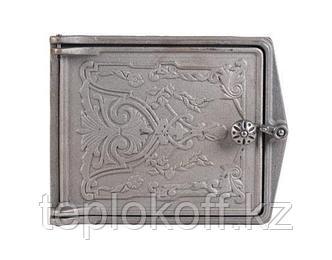 Дверца чугунная топочная ДТ-3, 270*230 мм, Балезино