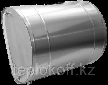 """Бак для теплообменника """"Дунай"""", 100 л, 1,0 мм, горизонтальный, нержавейка"""