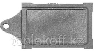 Задвижка чугунная печная ЗВ-6, 395*265 мм, Балезино