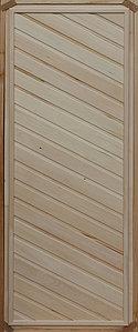 Дверь банная глухая (коробка липа) сорт В 700х1800 мм