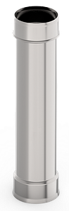 Труба ф 180, 1,0м, нержавейка, 0,5мм