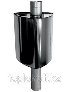 Бак Феррум Комфорт самоварного типа, 60 л, нержавеющий (AISI 201/1,0 мм), ф115 мм, треугольный