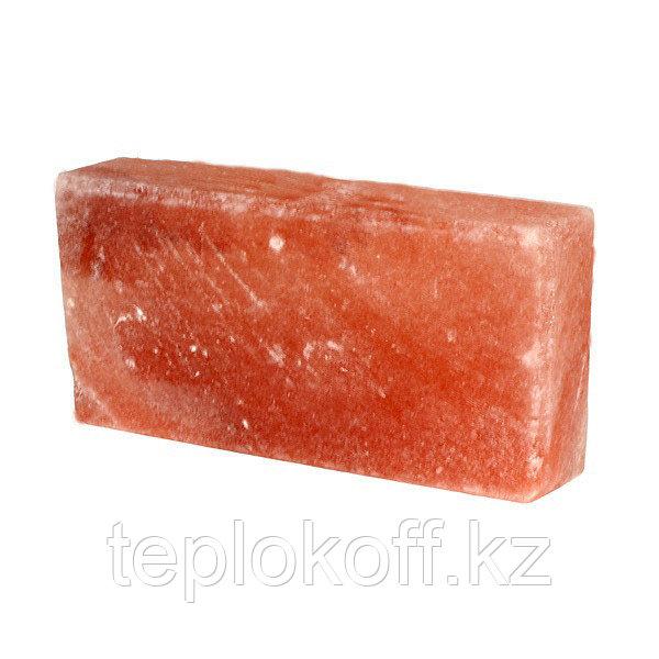 Кирпич соляной (соль гималайская) 200*100*50 мм, сторона шлифованая