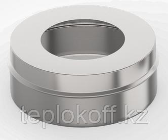 Заглушка с отверстием, ф 130х200, AISI 439/0,5мм, В