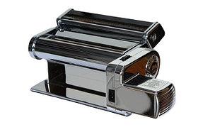 Электрическая раскатка для теста - лапшерезка Akita JP 260mm Marcato Pasta Drive тестораскаточная машина
