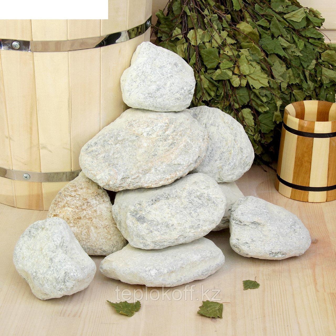 Камень для бани Талькохлорит шлифованный, 20 кг
