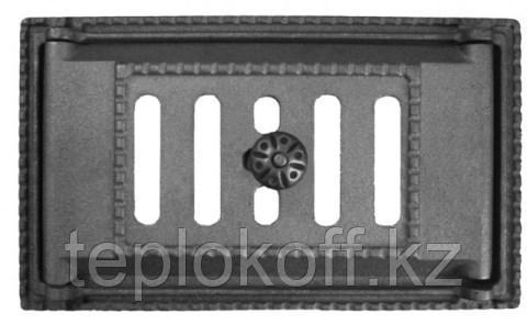 Дверца чугунная поддувальная ДП-2А, 310*180*97 мм, с регулировкой поддува, Рубцовск