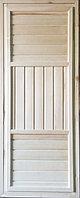 Дверь банная универсальная осина 65х700х1800 мм