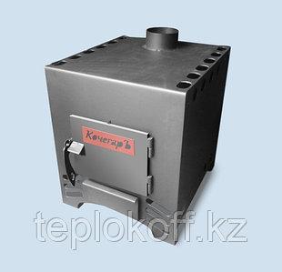 Печь отопительно-варочная AGNI КочегарЪ-150 с шибером дровяная