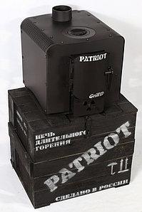 Печь отопительная PATRIOT Grill'D black