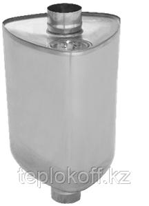 "Бак на трубе ""УРАЛ"", 60л, ф 115, AISI 439/0,8мм, (штуцер 3/4"")"
