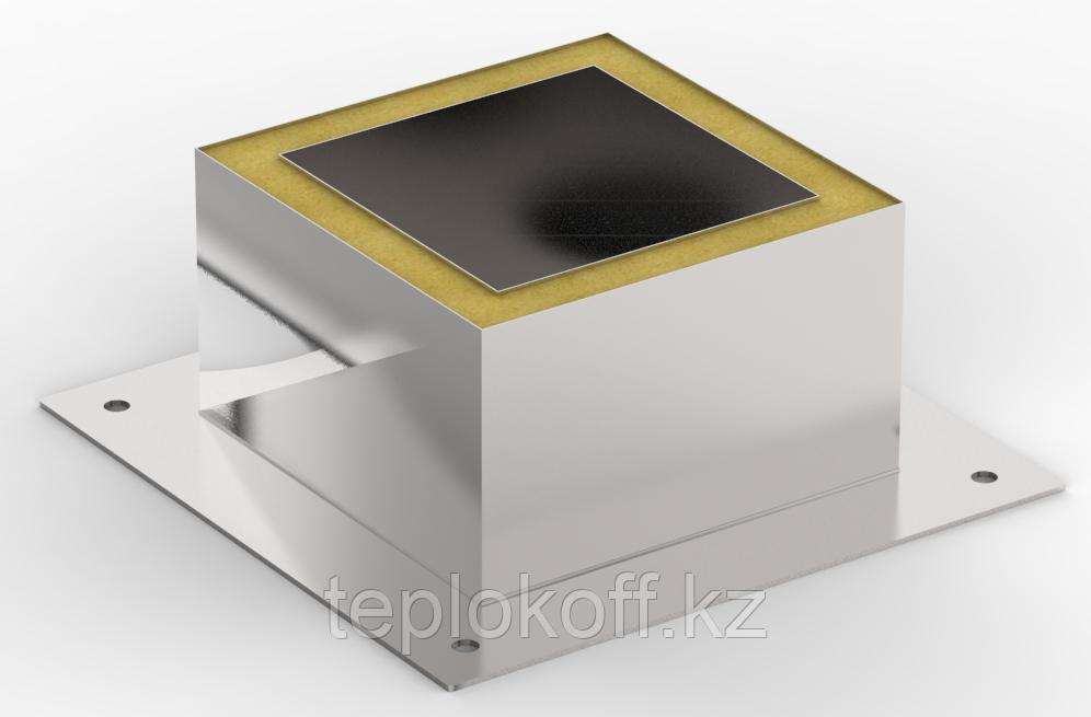 Декоративный ППУ КвТ, ф 130, AISI 439/Оц, 0,5мм/0,5мм