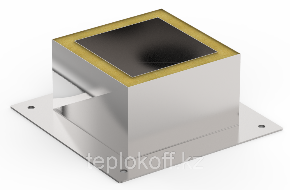 Декоративный ППУ КвТ, ф 220, AISI 439/Оц, 0,5мм/0,5мм