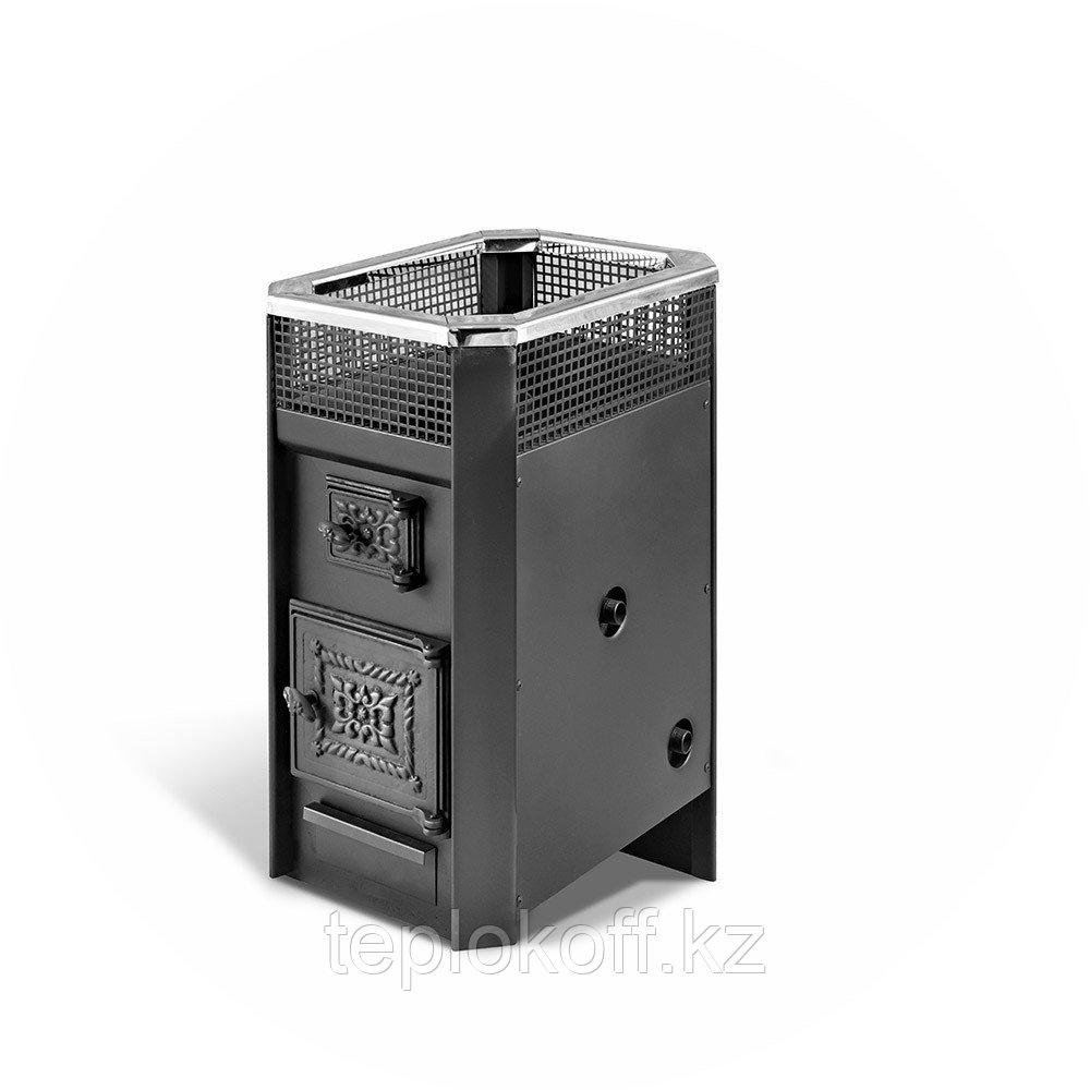 Печь банная Радуга-11, сталь 6 мм, теплообменник нержавеющий