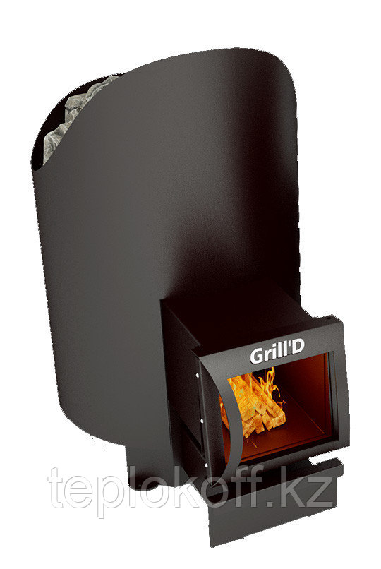 Печь для бани Grill'D Aurora 160 long black