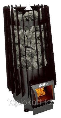 Печь для бани Grill'D Cometa Vega 180 long black 8-24 м3