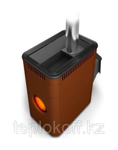 Печь для бани ТМФ Аврора Inox дверца антрацит илюминатор терракота