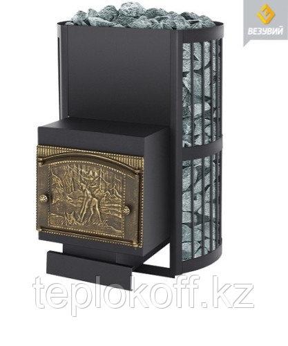 Печь банная Везувий Скиф 38 стандарт дверка ДТК - 2